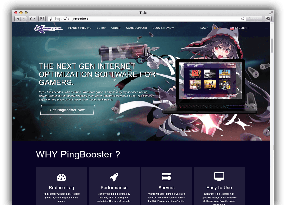 Pingbooster